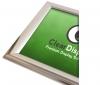 Chrome snap frame