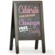 Traditional Chalk A-board